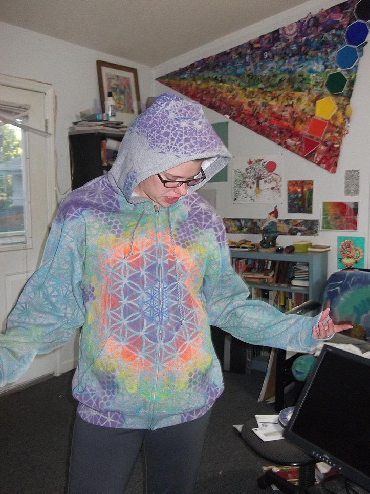 Sacred Geometry Clothing Sacred Geometry Hoodie