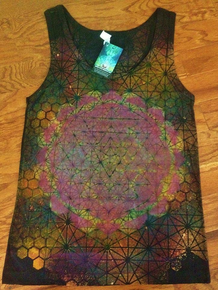Sacred Geometry Clothing Sacred Geometry Tank Top
