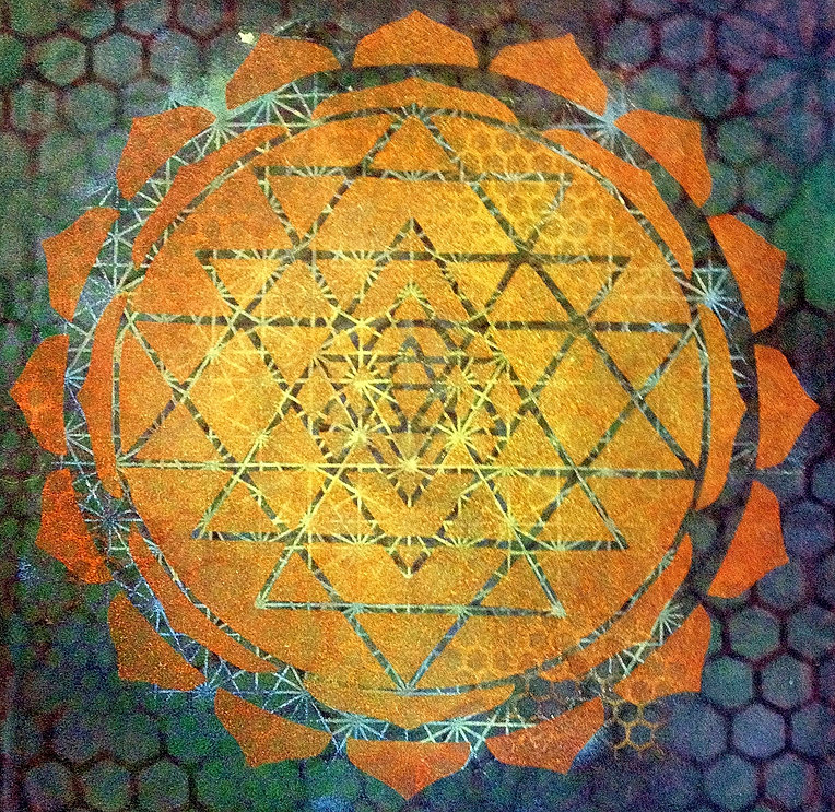 Sacred Geometry Clothing Sri Yantra Sacred Geometry Tee