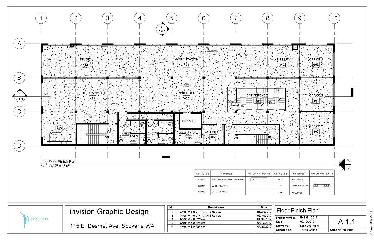 Libin wu creativity for Floor finishes definition