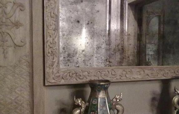 Состарить зеркало в домашних условиях