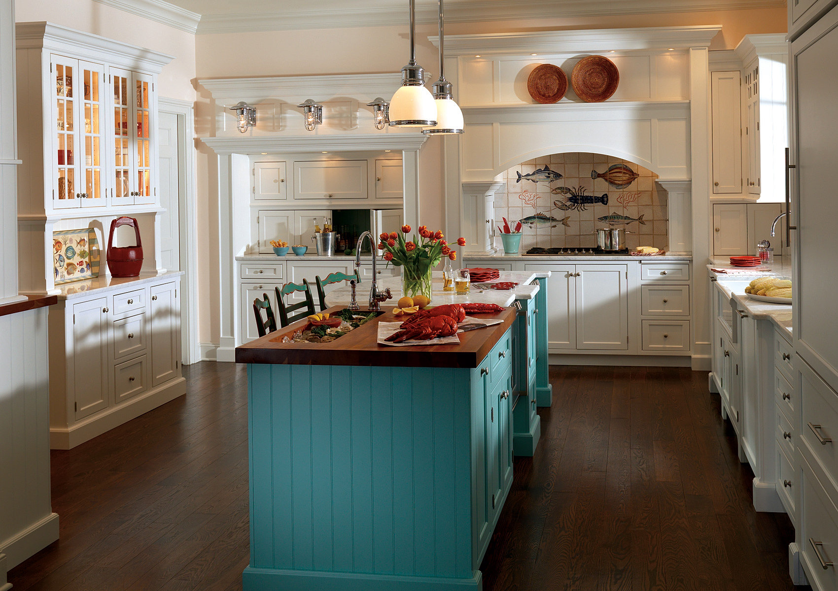Cottage Style Kitchen Nj Custom Kitchens And Bathrooms Cabinets Sales And Design