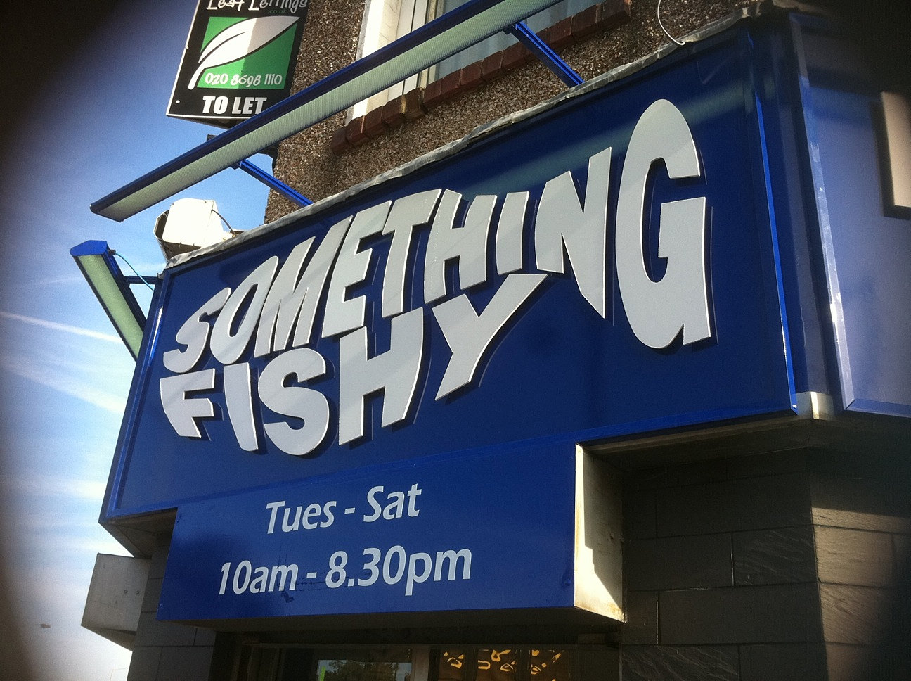 Fish And Chip Shop Signs