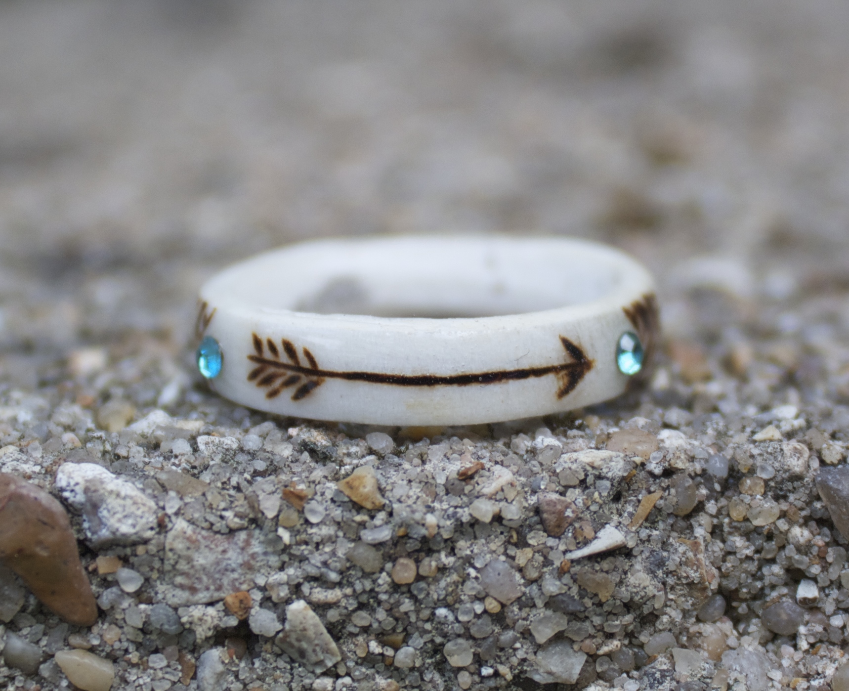 How To Make A Ring Out Of Deer Antler