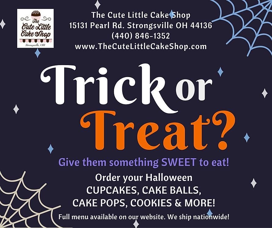 Order your Halloween Treats!