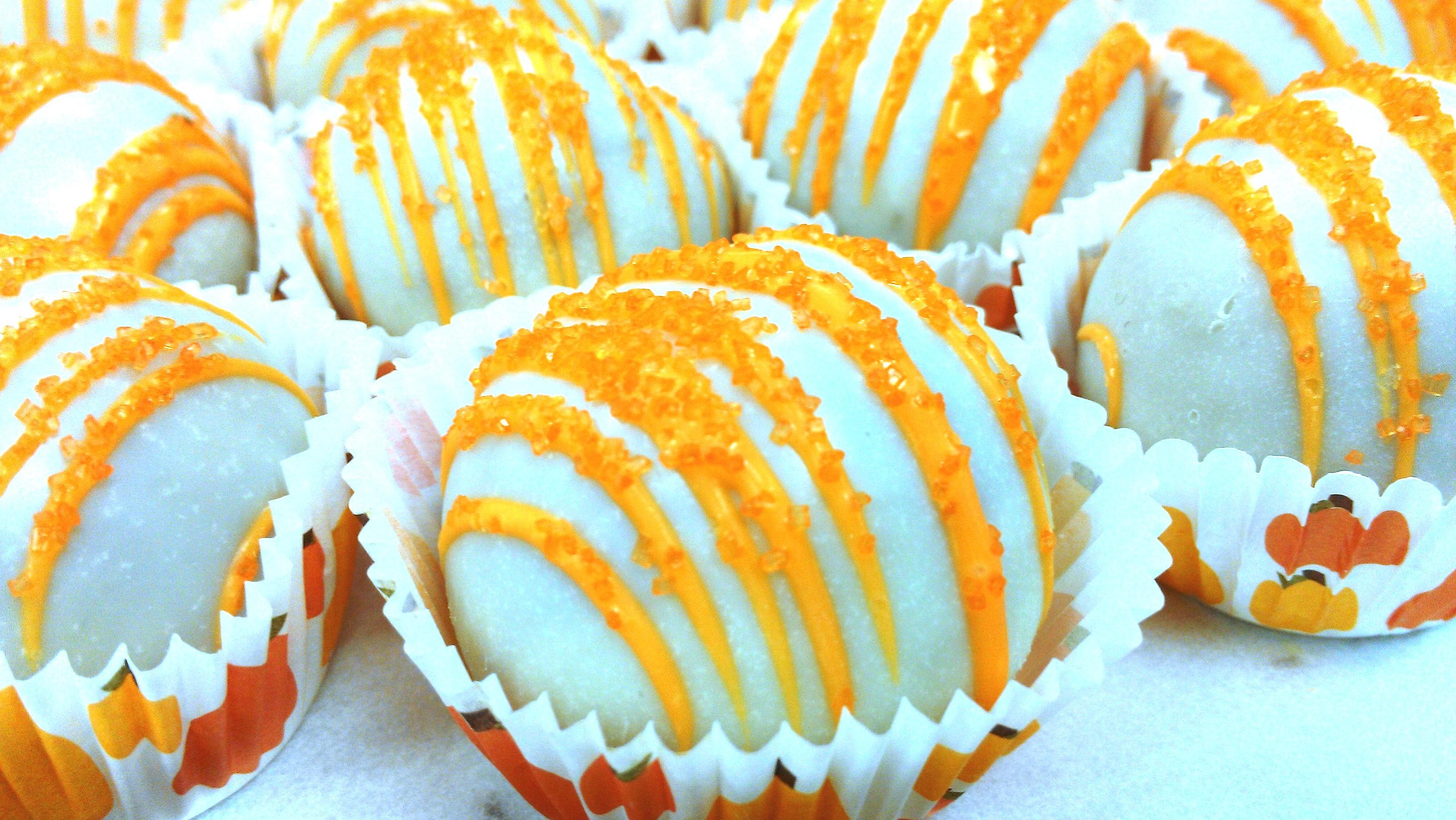 Chocolate Cake Pumpkin Frosting