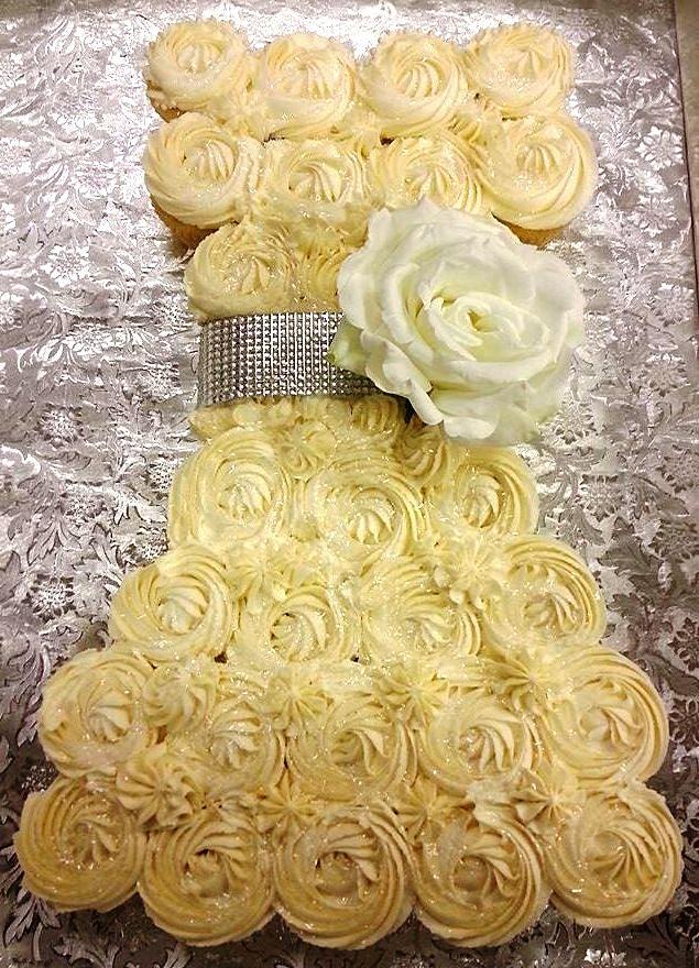 Dress Cupcakes Pull Apart Cake Cupcake Cakes