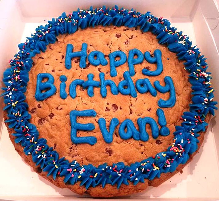 Giant Cookie Cakes!