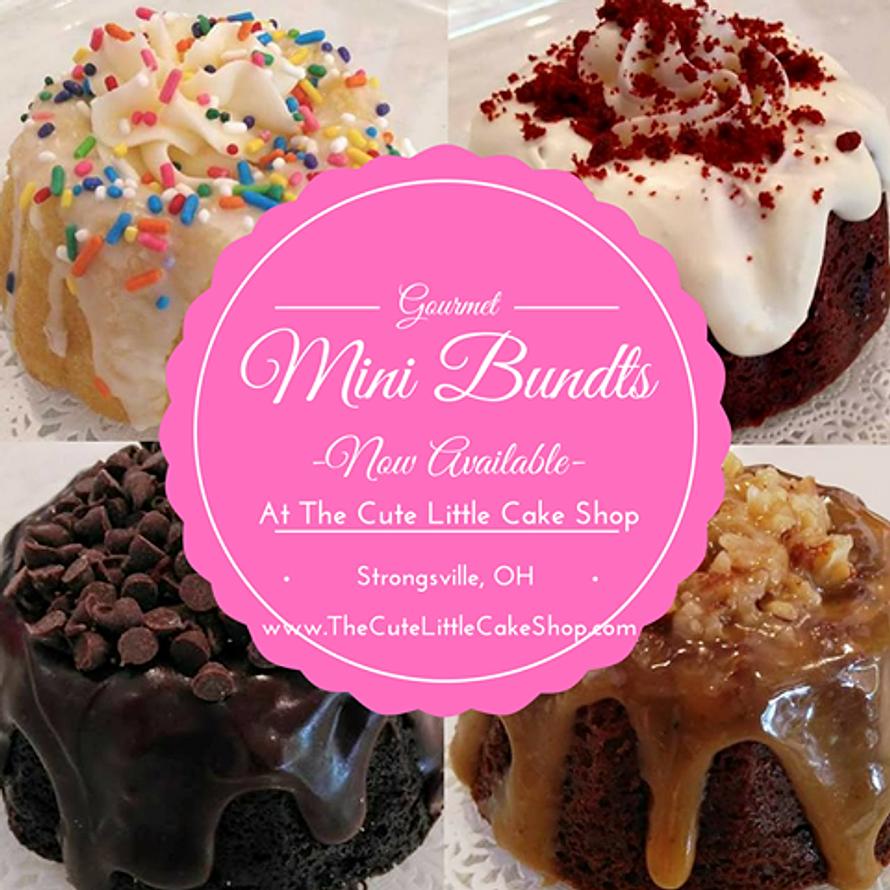 New! Gourmet Mini Bundts!