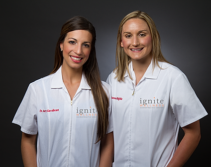 Dr Garrabrant and Dr Bigbie at Ignite Wellness Chiropractic