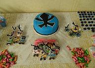 Bolo azul Power Rangers