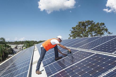 L'installazione pannello solare