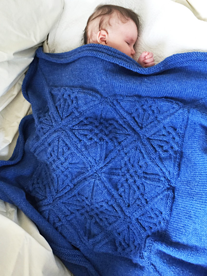 Easy Cable Knit Baby Blanket Pattern Attractive Easy Cable Knit