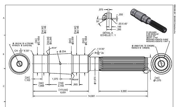 Services dessin 3d et conception m canique for Plan b design fabrication inc