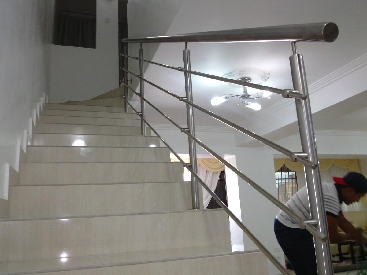 Aluminox cuenca pasamanos barandas y escaleras en - Pasamanos de acero inoxidable para escaleras ...