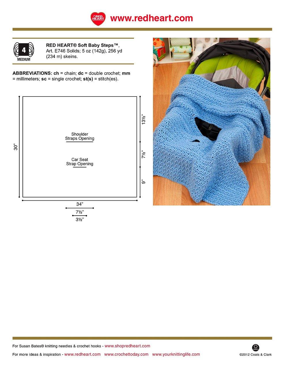 Car seat blanket crochet pattern car seat blanket crochet pattern 2 apr 2012 bankloansurffo Images
