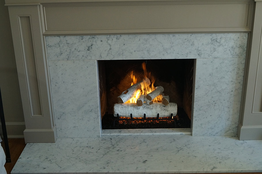Gas Fireplace gas fireplace logs : Ely Stokes Certified Chimney Sweep, Chimney Repair, Fireplace, Masonry