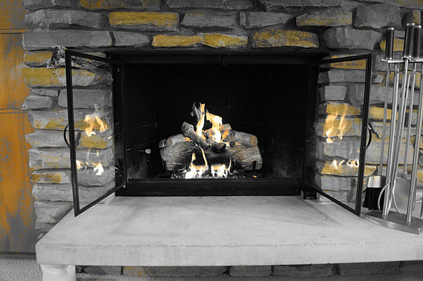 Ely Stokes Gas Logs Fireplaces & Inserts