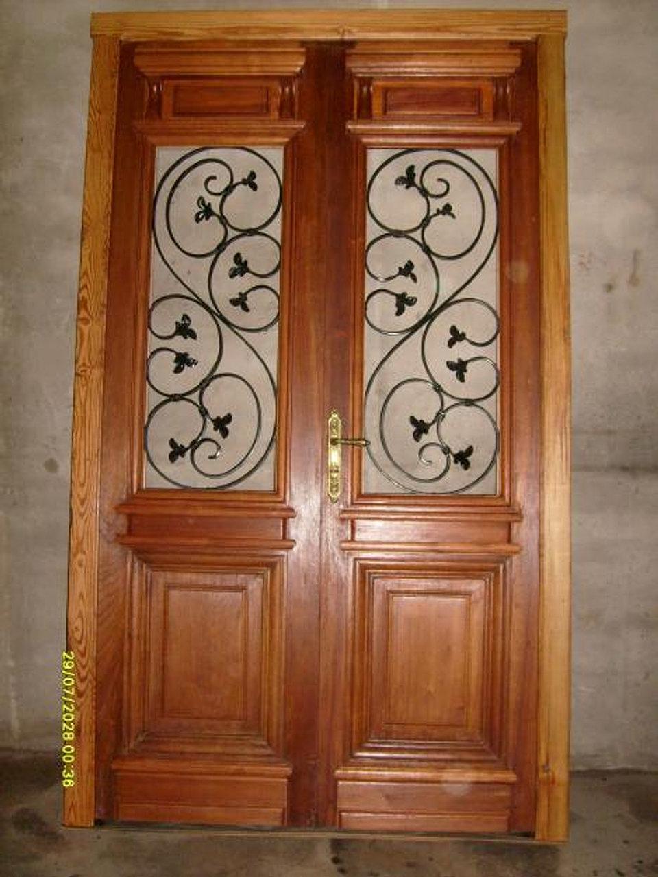 for Puertas antiguas dobles