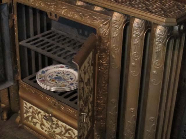 Antique Plate Warmer Radiator. Addisons Toronto Cast Iron Radiators  Plumbing Fixtures  Antiques