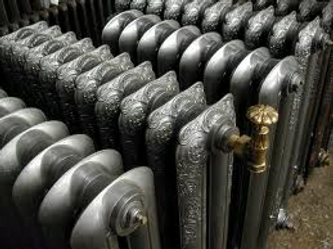toronto vintage antique cast iron hot water radiators