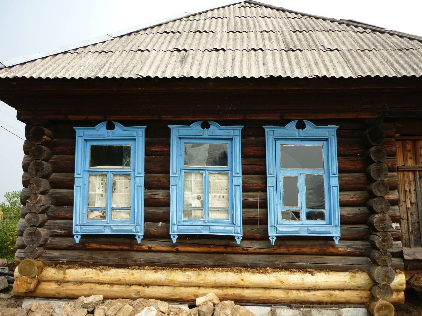 Замена средних венцов деревянного дома своими руками