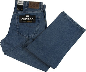 CALÇA LEE CHICAGO CORTE TRADICIONAL
