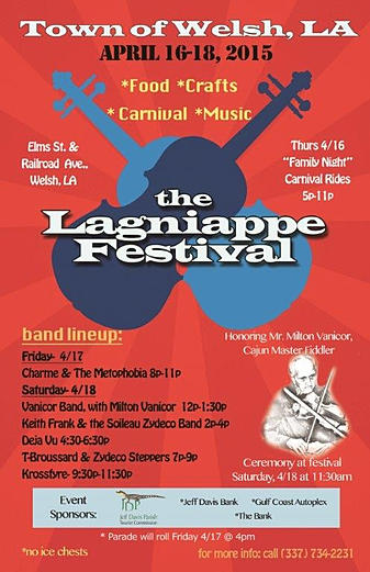 Lagniappe Fest in Welsh Featuring Krossfyre!