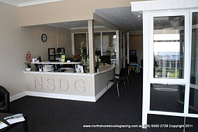 North Shore Double Glazing Reception