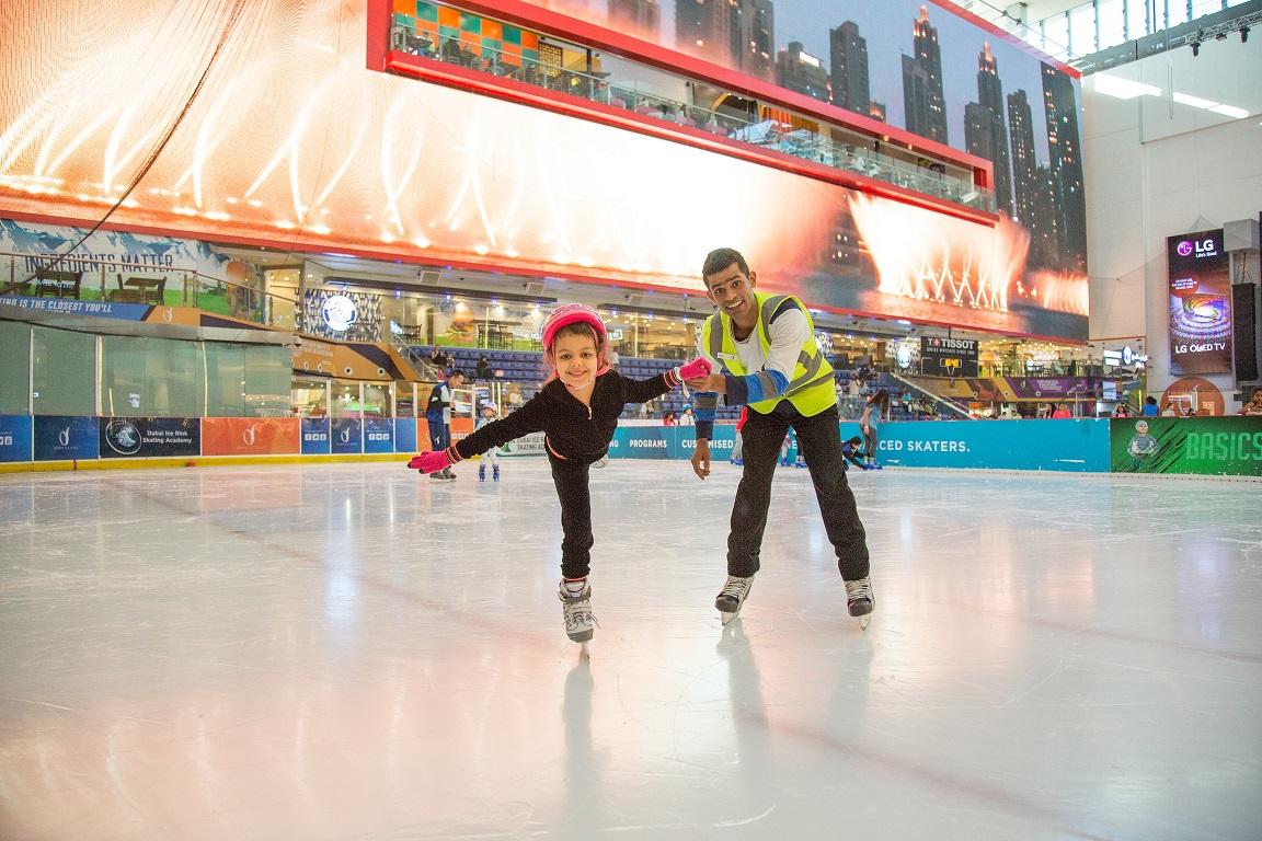 Dubai Ice Rink, Dubai Mall, Summer Camp 2018, Dubai Mums