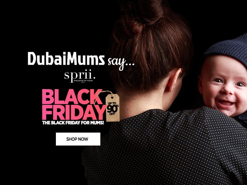 Sprii.com, Black Friday, Dubai Mums