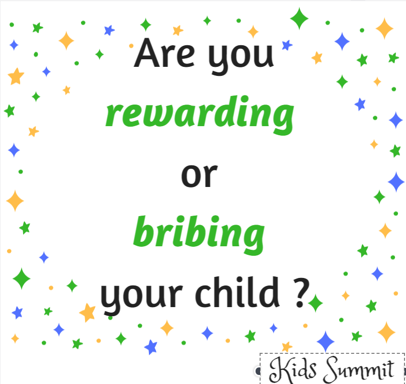 bribes and incentives, kids summit, Irini Girgis