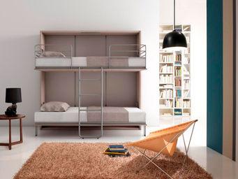 armoire lit relevable design couchage 90 cm haut de gamme. Black Bedroom Furniture Sets. Home Design Ideas