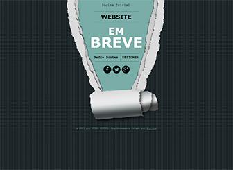 Em Breve - Uma Página Template - Um template HTML de 1 página é a forma perfeita de entrar online rapidamente. Esta fantástica página inicial dá aos seus clientes todas as informações que vão precisar. Entre online hoje!