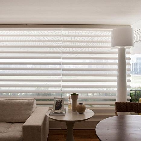 Arthur decor cortinas persianas loja sp hunter douglas - Persianas luxaflex ...