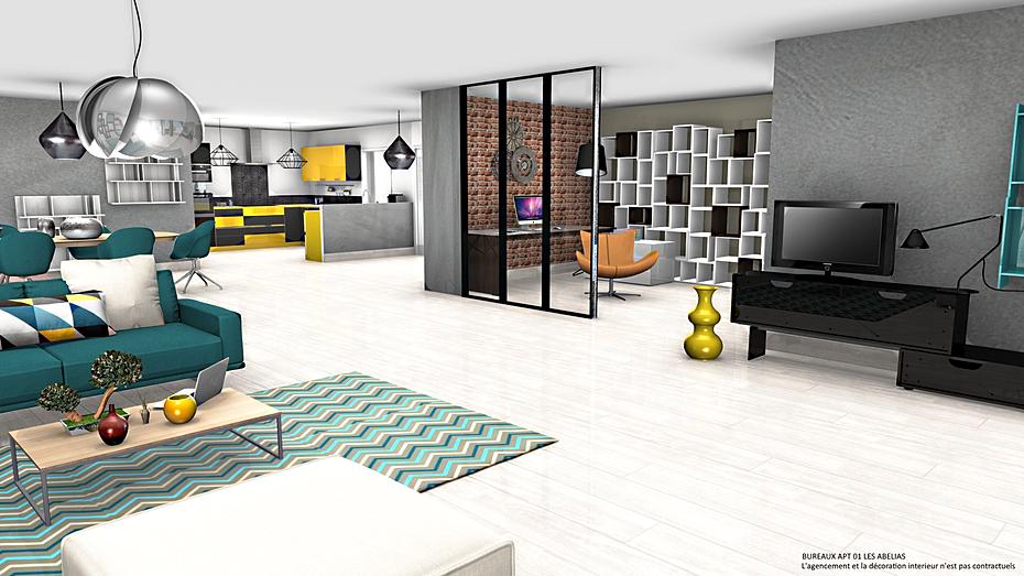 Page d 39 accueil de d design for Espace bureau dans salon