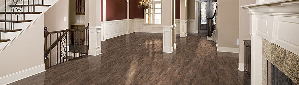 Bowen hardwood stairs goodfellow laminate floors for Goodfellow laminate flooring