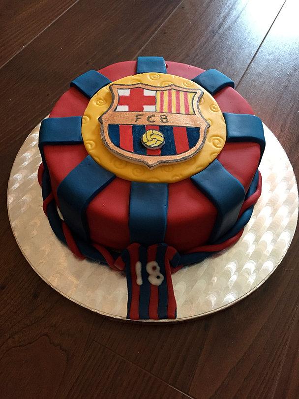 Messie Soccer Birthday Cake