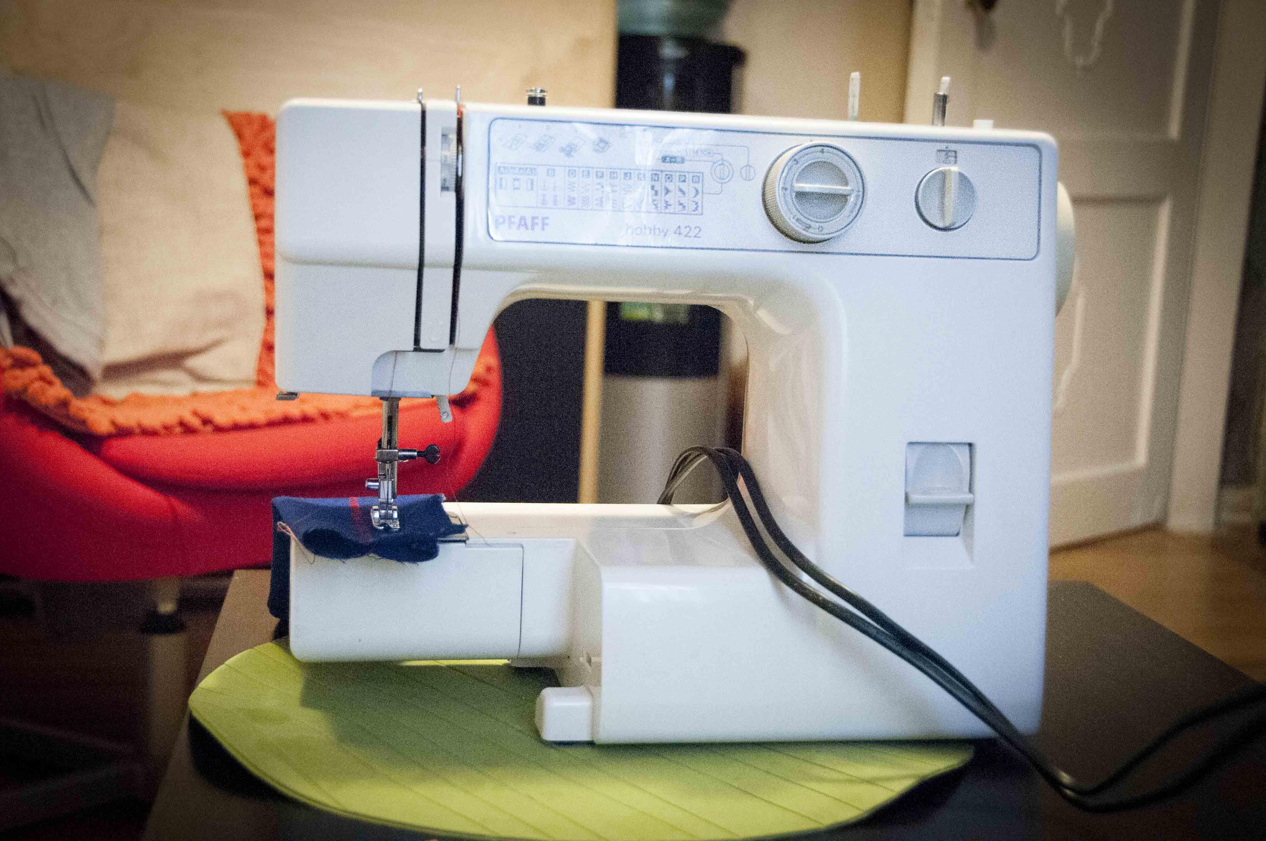 Вышивка на подольской швейной машине 88