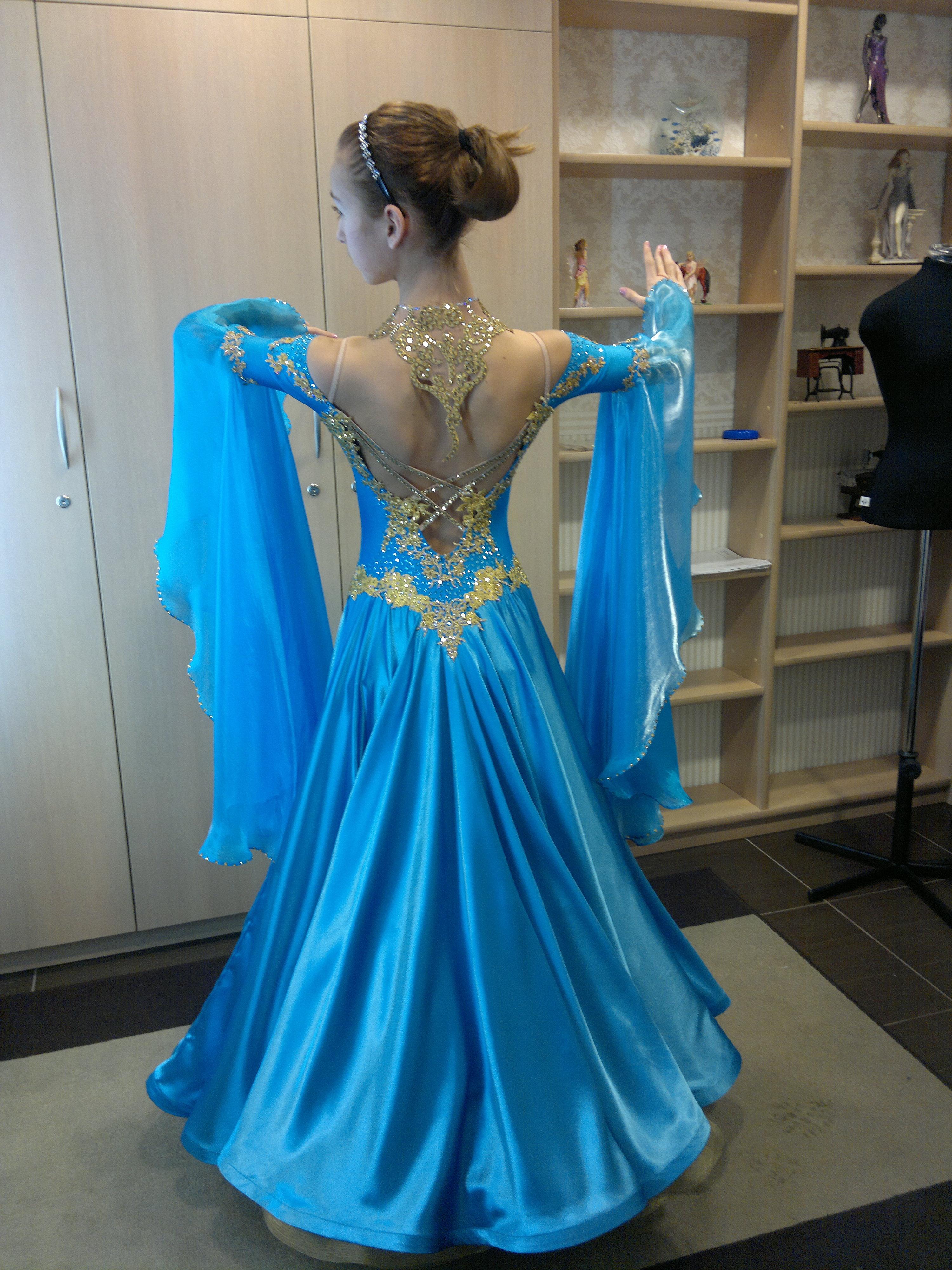Все для шитья бальных платьев