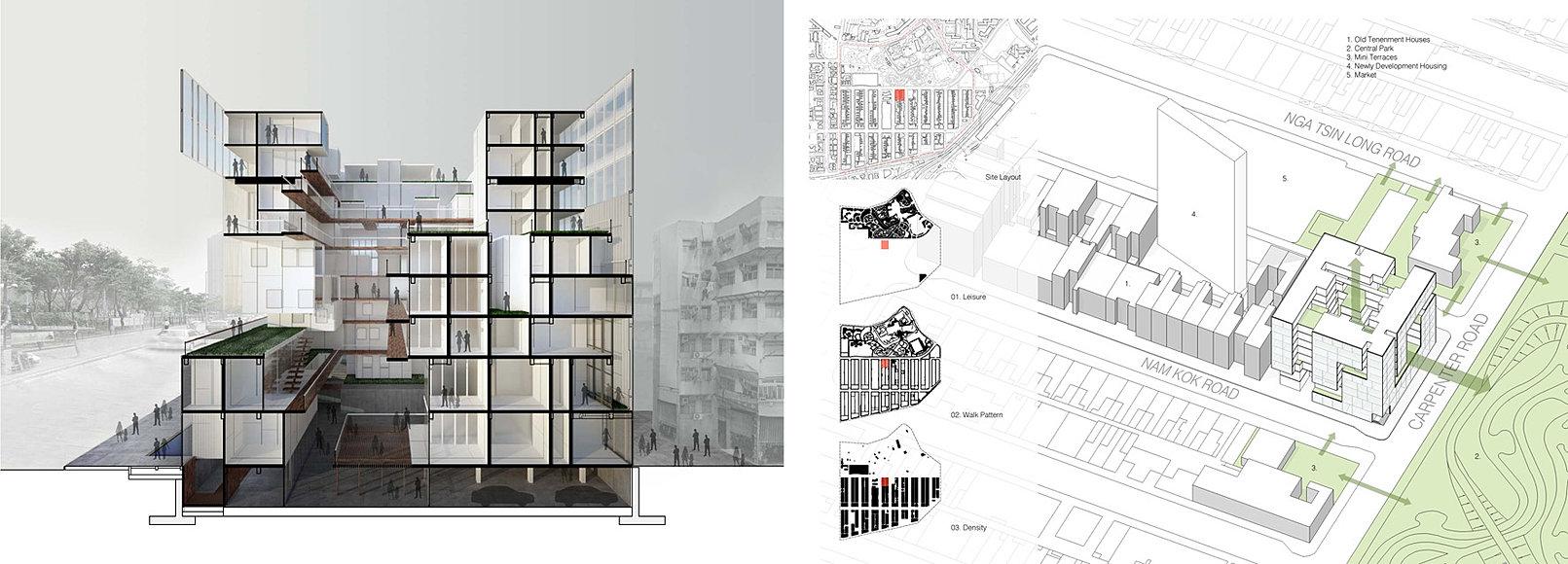 Hon Wong Architecture Portfolio