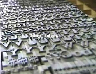 Letterset for Balloon Printing | Wholesale Balloons Supplier ...