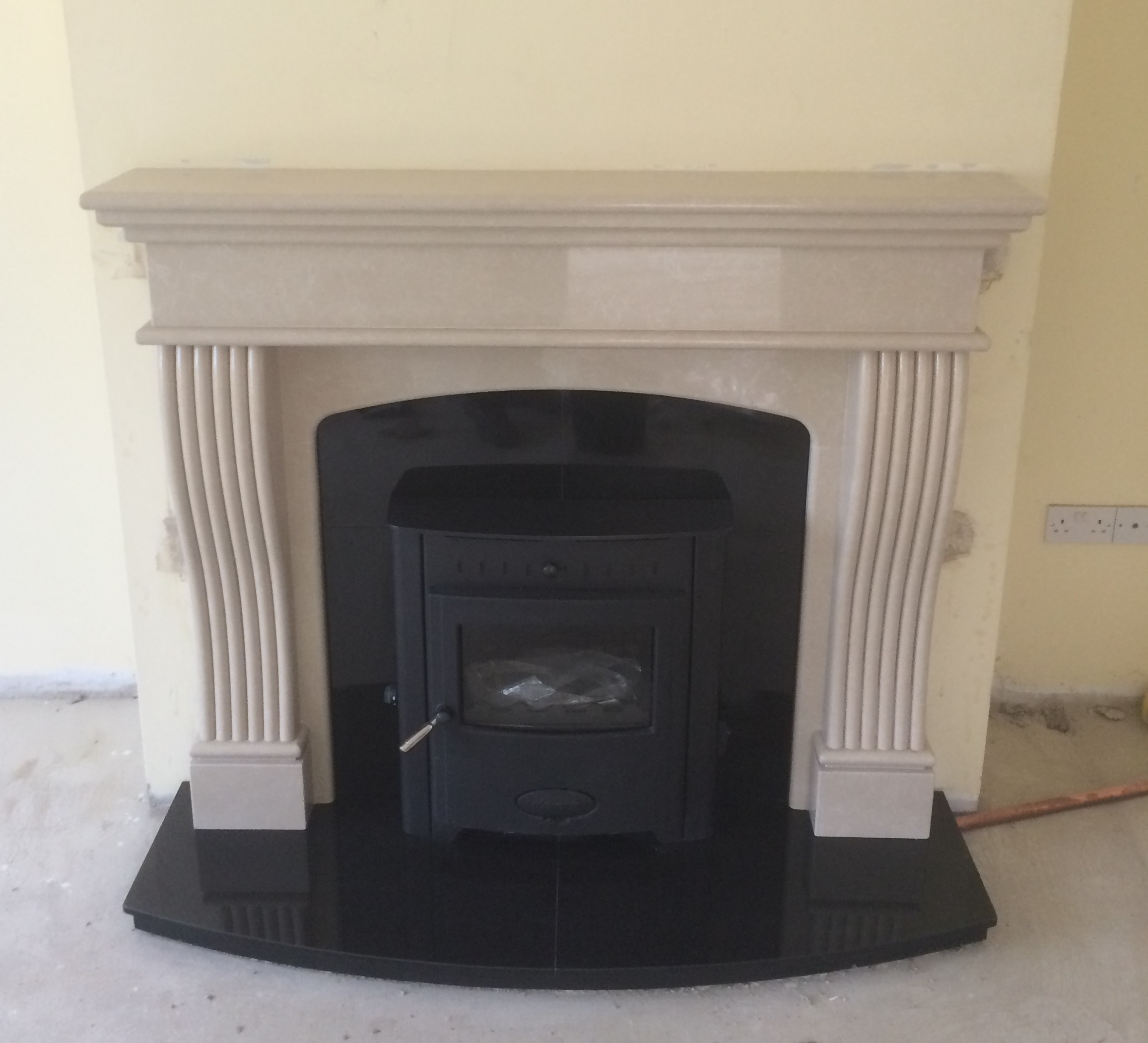 bespoke fireplace with eb16i spratt fireplaces and stoves centre