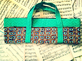 Green Flute Case Cover
