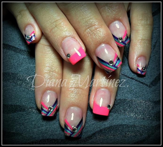 Diseño para uñas de acrilico 2013 - Imagui