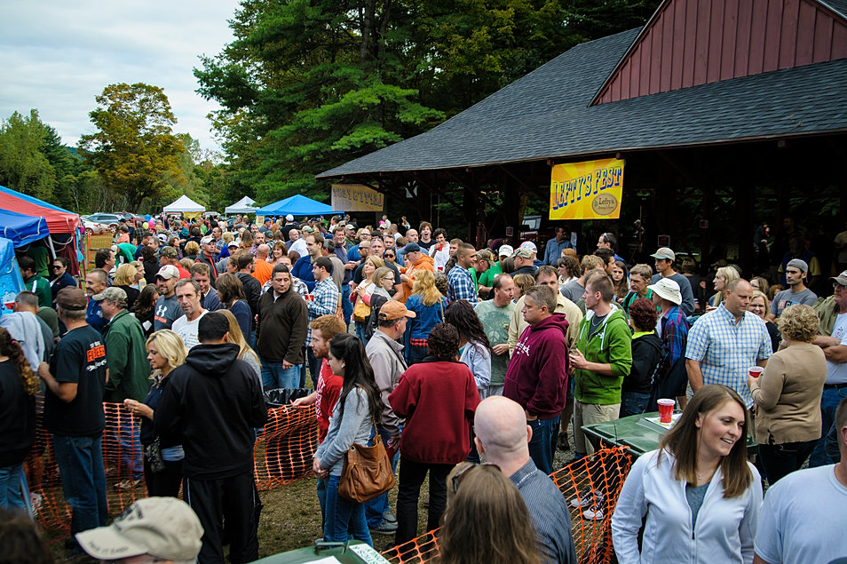 Lefty's Fest 2013 crowds