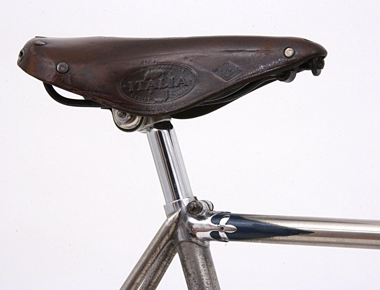 gloria italia saddle, seatlug & top tube
