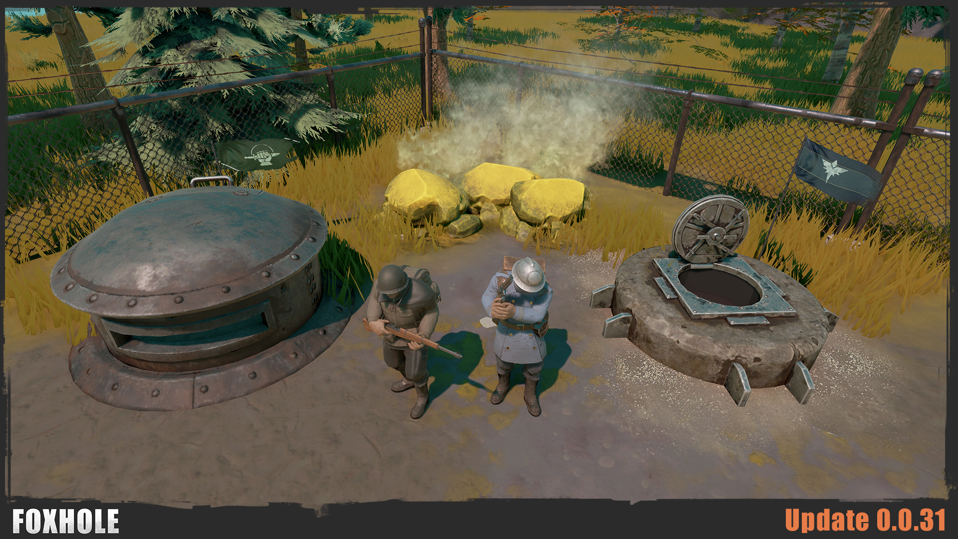 foxhole 0 0 31 release notes foxhole persistent war mmo