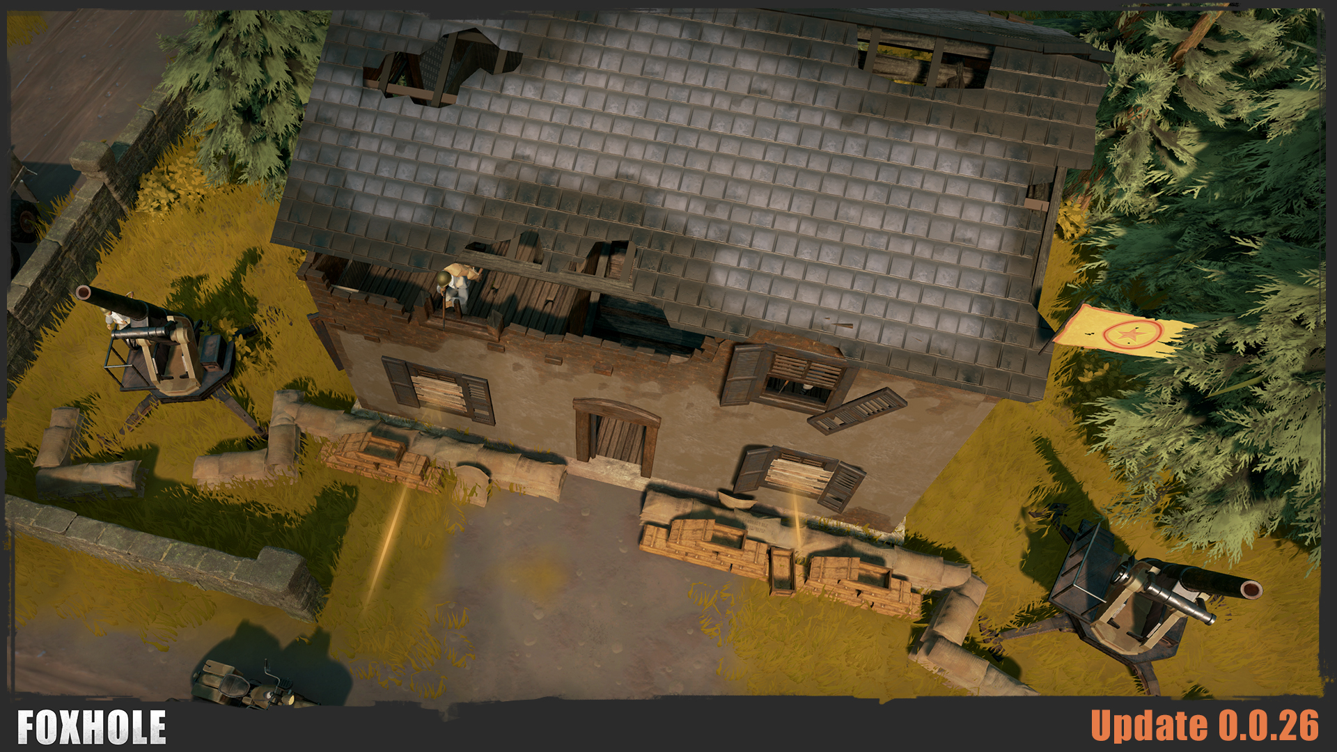 foxhole 0 0 26 release notes foxhole persistent war mmo