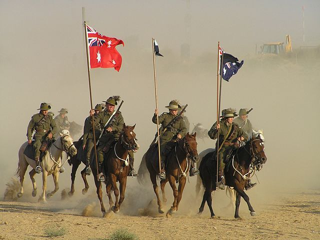 800 Horsemen by Col Stringer